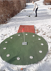 CARVINGGOLF: GOLFATHLON im Winter