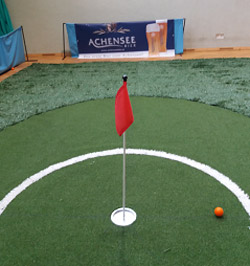 CARVINGGOLF: Short Golf im Rehazentrum	Bad Häring